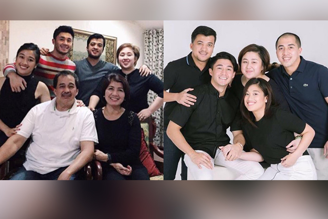 IN PHOTOS: Arron Villaflor with his picture-perfect family!