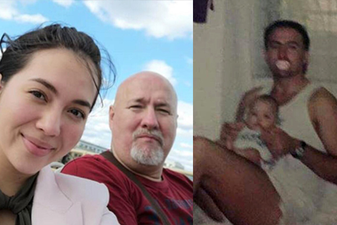 Priceless! Rare moments of Julia Montes with her loveable Papa