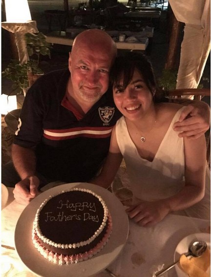 Rare moments Julia Montes with her loveable Papa