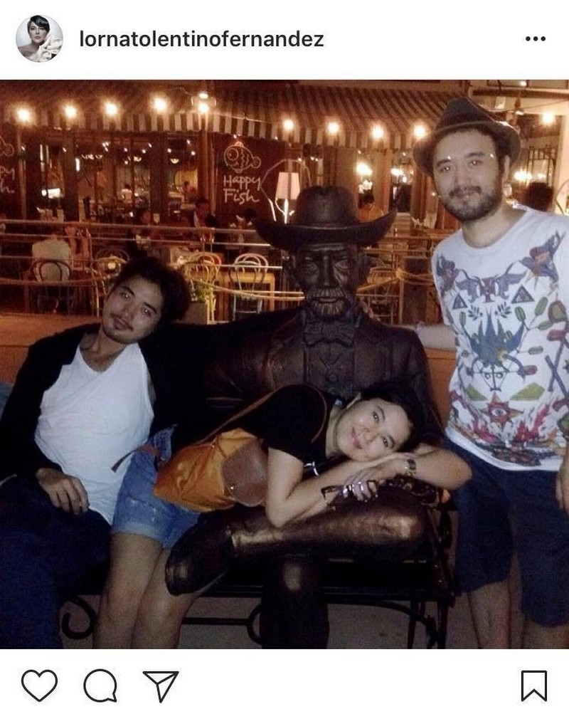 IN PHOTOS: Lorna Tolentino with her handsome Daboys!