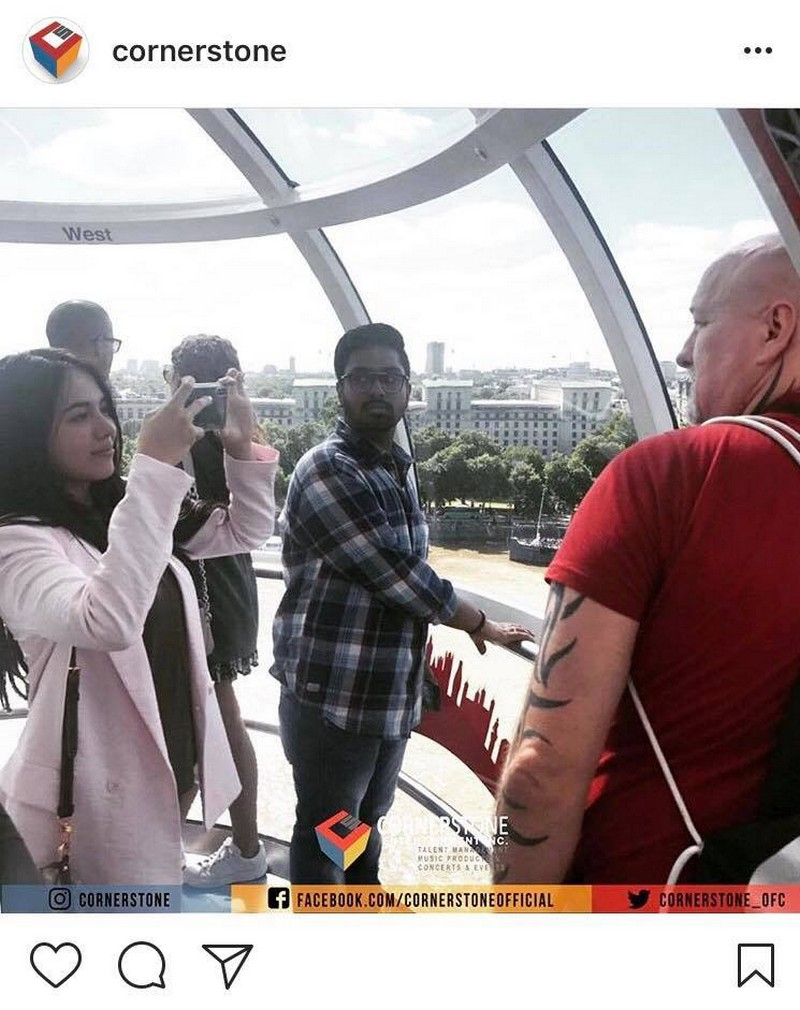 LOOK: Julia Montes celebrates Father's Day with her Dad in London