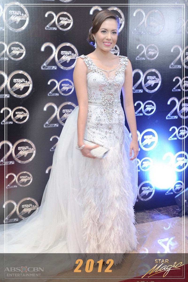 Julia Montes' Star Magic Ball Looks Through The Years
