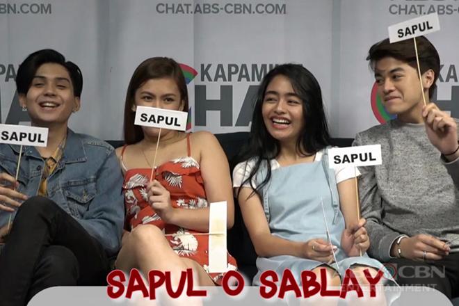 SAPUL o SABLAY: Bukingan time with Asintado stars Ryle, Karen, Vivoree & CK